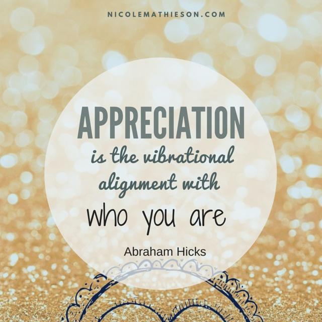 appreciation hicks
