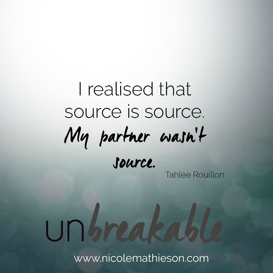 Tahlee unbreakable podcast quote