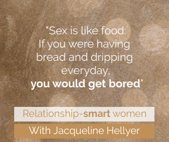 relationship coach for women, sex is like food